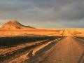 Extremely long shadows of South Dakota.