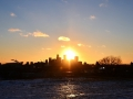 Sundogs in Minneapolis. It's was another really cold day and the conditions were just right to see sun dogs!