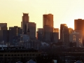 Sunset on downtown Minneapolis.