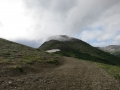 The trail to Flattop in Anchorage, AK.