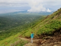 Lots of stairs on the Flattop hike in Anchorage, AK.