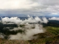 The view of Anchorage from Flattop.