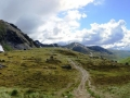 The view from Hatcher Pass.