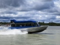 On of the tourist things a person can do in Talkeetna is ride on a really, really fast boat.