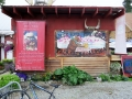 Everywhere we go the Man vs. Food guy has been before us - even in Talkeetna, AK!