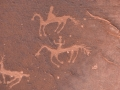 Petroglyphs in Canyon de Chelle