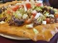 Delicious Indian tacos in Canyon de Chelle