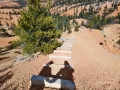 Golden Wall trail in Red Canyon UT