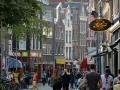 The buildings tilt out to make loading / unloading furniture easier in Amsterdam.