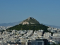 I hiked up this hill quite a few times during our stay - it was really cool and gave a great view of Athens!