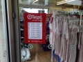 """This is target in Australia. Nothing to do with Target in the US. Logo, font, merchandise all looks like the US target. US Target's slogan is: """"expect more. pay less."""" hmmmm....."""