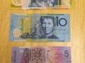 Australian money is cool!