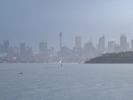 A different view of Sydney. We were enjoying the sun a ways away from downtown. It was raining downtown and sunny where we were.