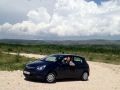 It was super easy to drive around Bosnia, we had a good time in our tiny rental car!