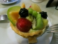 The BEST fruit tart I've had. The place was in the North End / Little Italy.