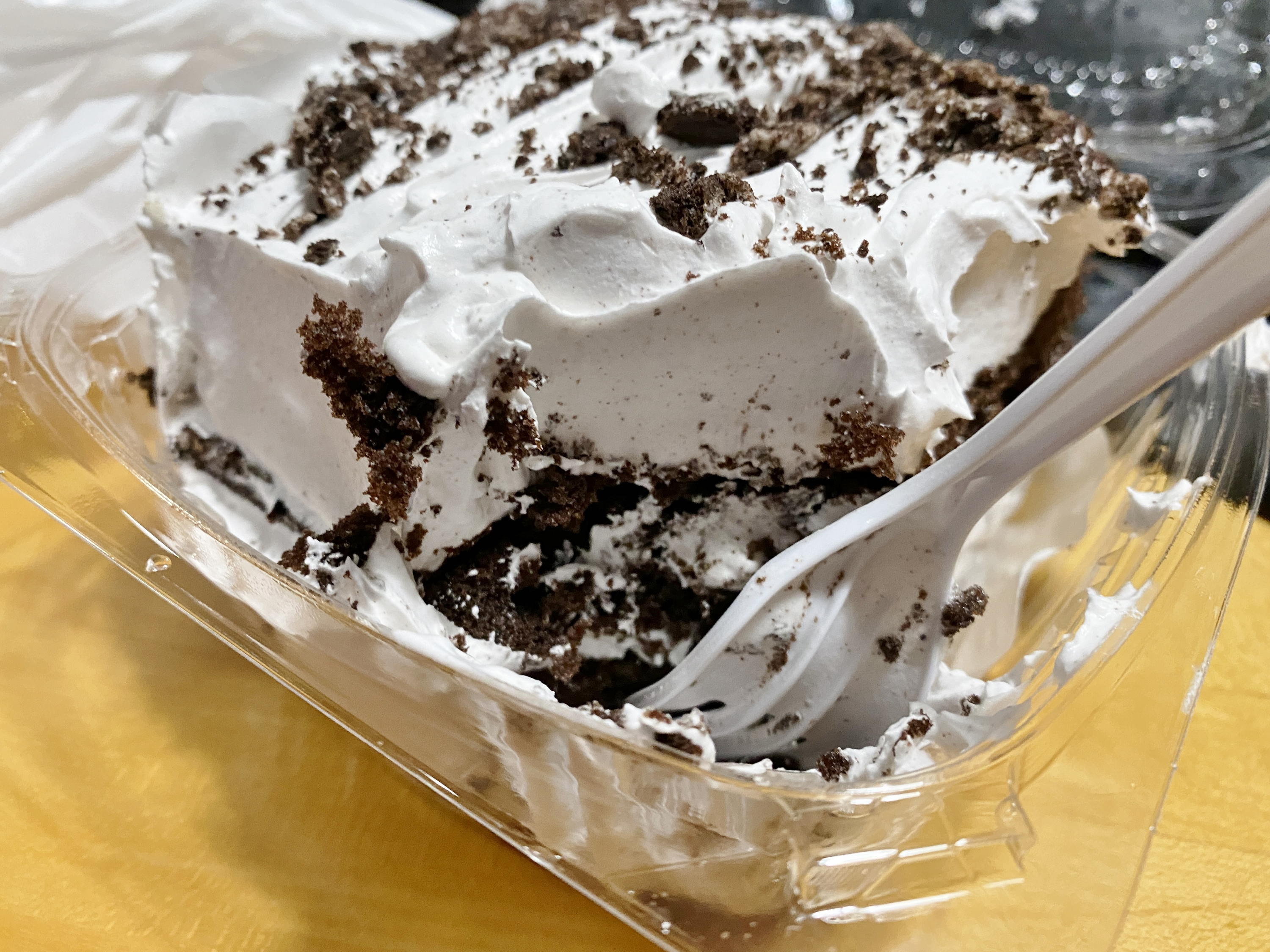 Oreo brick from Bova's - incredibly delicous!