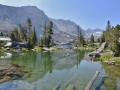 Stunning, absolutely stunning, Blue Lake in the Eastern Sierras. Fantastic trail and wonderful views. One of the best hikes of my life.