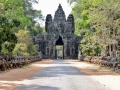 Entry into the Angkor Wat complex.
