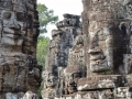 Bayon temple in Siem Reap.