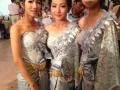 Bridesmades at the Cambodian wedding!