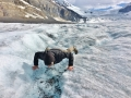 It's not common to get water from glacier so I decided to give it a try.