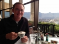 Pretty much how I spent the days in Santiago since I was sick. At least it was a good view!