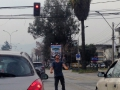 Sometimes we'd see jugglers and other performers on the street in Santiago. It really made the time go by!