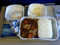 We took a lot of flights in China, just a ton. Every flight gave us a complimentary meal no matter how long!