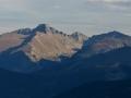 Black Lake trail valley Rocky Mountain NP