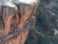 Flume on Highway 141 in Colorado