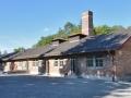 The cremetorium at Dachau.