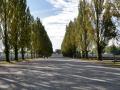 The main rode in Dachau between the baracks.