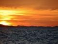 Sunset in Zadar.