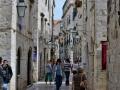 Old streets of Dubrovnik.