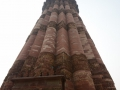Qutab Mintar in Delhi - a huuuge tower built long ago. When the Brits arrived, the British Raj knocked down the top and put his own top on. That was the British's attitude to most things in India.