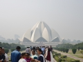 Lotus Temple in Delhi.
