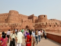 Red Fort in Agra. Just an absolutely massive fort and 75% is still used by the Indian military.