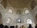 Inside the Taj Mahal. it was very dark and super hot.