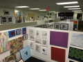 Artomatic in DC - a large group of artists take over an abandoned space and do what they want. It's really cool!