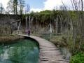 Plitvice Falls, Croatia - Jac for scale!