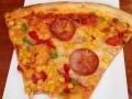 Pizza! The best dish in Croatia. It's a lot like NY style pizza and sooooo good!