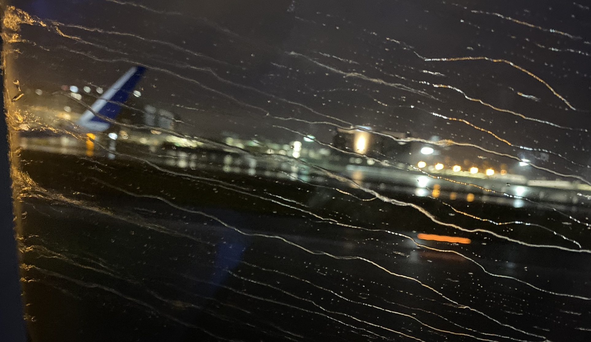 Takeoff in the early morning at MSP