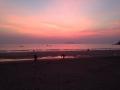 Sunset in Goa.