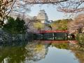 Himeji Castle near Sunset.