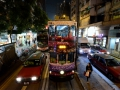 We loved riding the streetcars in Hong Kong.
