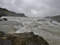 Gullfoss waterfall on the Golden Circle tour in Iceland.