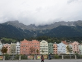 The town of Innsbruck, Austria.