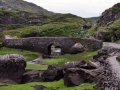 Stone bridge in the Gap of Dunloe, Ireland.