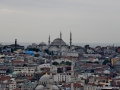 Istanbul is a spralling city with tons of mosques. The city had 20million people and seems to go on forever.