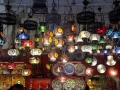 A cool light shop in Istanbul.